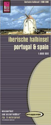WMP Kaart Iberische Halbinsel 1:900 000