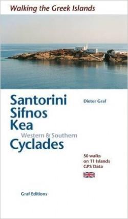 Wandelgids Santorini Sifnos Kea / Western & Southern Cyclades