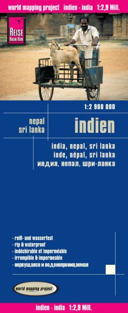 Landkaart India  1:2 900 000 6.A 2016