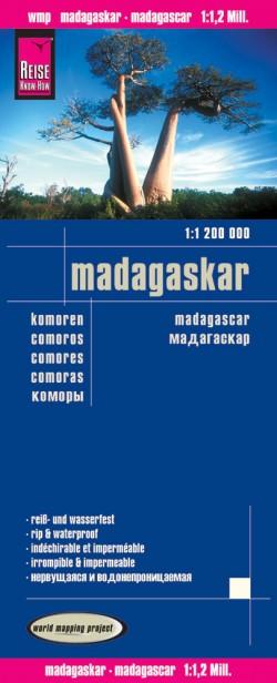 Wegenkaart Madagaskar 1:1.200.000 5.A 2016