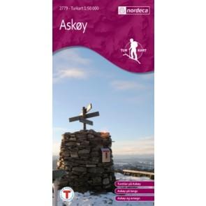 Wandelkaart Noorwegen/Turkart 1:50.000 Askøy (2012)