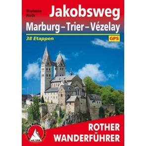 Wandelgids Jakobsweg Marburg - Trier - Vézelay 38 Etappen (1.A 2016)
