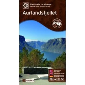 Toeristische Wegenkaart Aurlandsfjellet 1:50.000