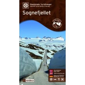 Toeristische Wegenkaart Sogneflellet 1:80.000