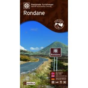 Toeristische Wegenkaart Rondane 1:55.000