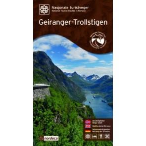 Toeristische Wegenkaart Geiranger-Trollstigen 1:60.000