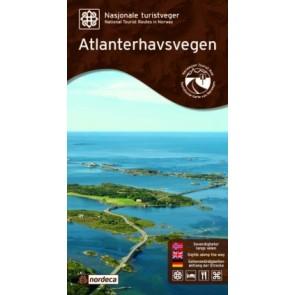 Toeristische Wegenkaart Atlanterhavsvegen 1:60.000