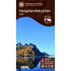 Toeristische Wegenkaart Helgelandskysten 1:125.000