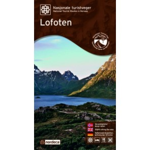 Toeristische Wegenkaart Lofoten 1:100.000