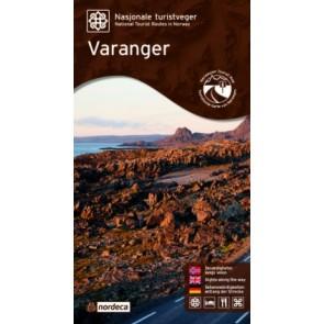 Toeristische Wegenkaart Varanger 1:100.000