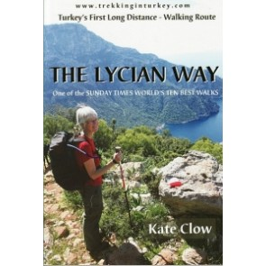 The Lycian Way (boek + kaart) Turkey's first Long dist. walk (2013)