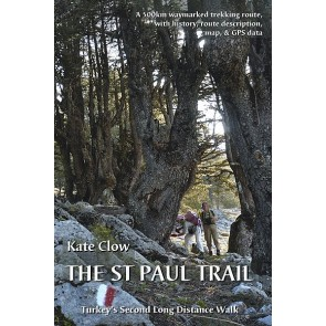 Wandelgids The St Paul Trail (boek + kaart) Turkey's second long distance walk (2013)