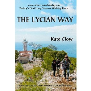 Wandelgids The Lycian Way (boek + kaart) Turkey's first long distance walking route (2014)