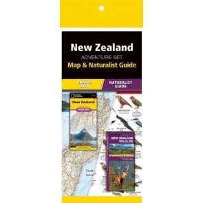 New Zealand National Park Adventure Set (Map & Naturalist Guide)