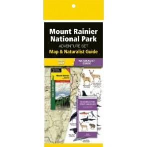 Mount Rainier Adventure Set (Map & Naturalist Guide)