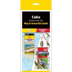 Cuba Adventure Set (Map & Naturalist Guide)