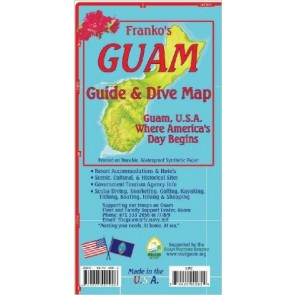 Guam Guide & Dive Map