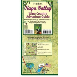 Napa Valley Wine Country Adventure Guide & Map