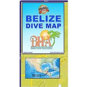 Belize Dive Map