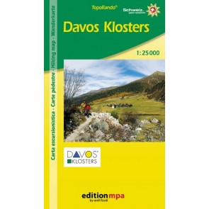 TopoRando Davos Klosters 1:25.000