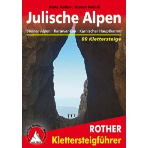 Rother Klettersteigführer Jülische Alpen - 80 Klettersteige (4.A 2013)