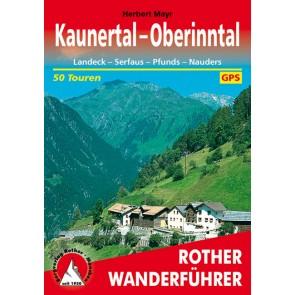 Rother Wanderfuehrer Kaunertal-Oberinntal - 50 Touren (4.A 2014)