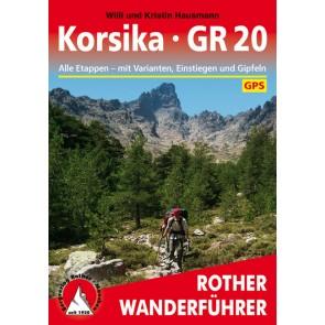 Rother Wanderführer Korsika GR20 (4.A 2017)
