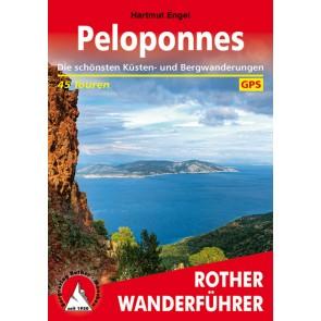 Wandelgids Rother Peloponnes 45 Touren  (2.A 2017)