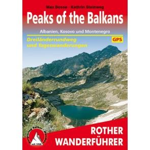 Wandelgids Peaks of the Balkans 47 Etappen (1.A 2016)