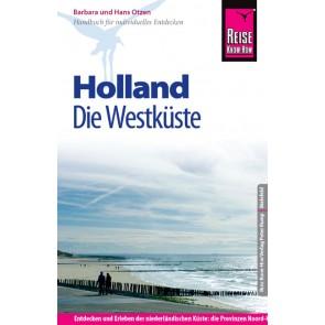 Reisgids Holland die Westküste 5.A 2014/15