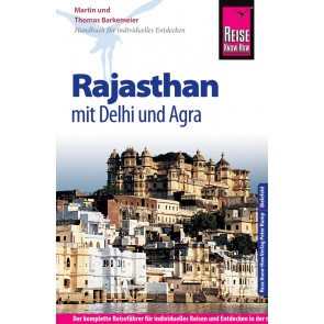 Reisgids Rajasthan mit Delhi und Agra 9.A 2016