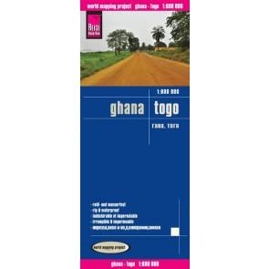 Wegenkaart LK Ghana/Togo 1:600 000 1.A 2014