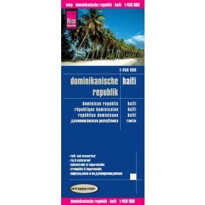 Wegenkaart Dominikanische Republik & Haiti 1:450T  3.A 2015