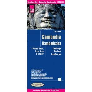 Wegenkaart Kambodscha/Cambodia 1:500.000 6.A 2018