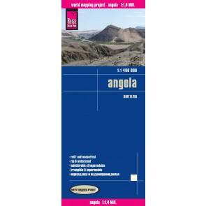 Landkaart Angola 1:1.4m 2.A 2016