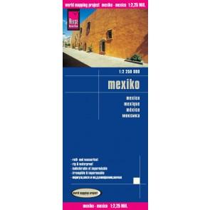 Landkaart Mexico/1:2 250 000  5.A 2015