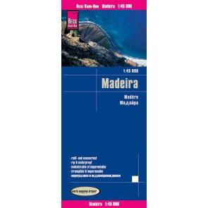 Wegenkaart Madeira 1:45.000 8.A 2017