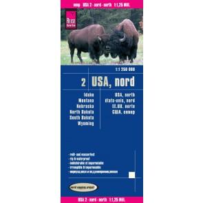 Landkaart USA-2 Nord 1:1 250.000  2.A 2016