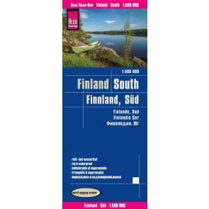 Wegenkaart Finland South 1:500.000 1.A 2017