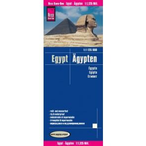 Wegenkaart Egypt   Ägypten 1:1 125.000 6.A 2018