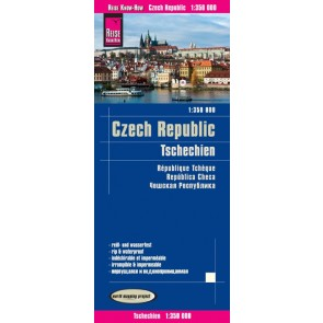 Wegenkaart Czech Republic/Tschechien 1:350.000  3.A 2018