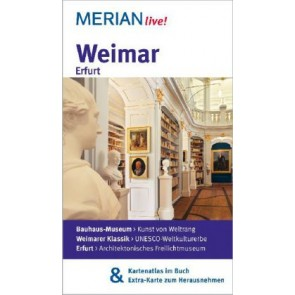 Merian live! Weimar (met losse kaart) 2013