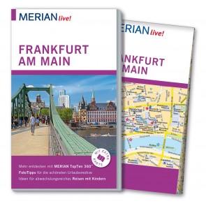 Reisgids Merian live! Frankfurt mit Stadtplan 1:20.000  1.A 2015