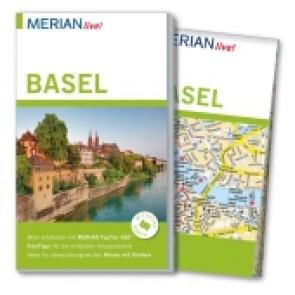 Reisgids Merian live! Basel mit Stadtplan 1:17 500  3.A 2016
