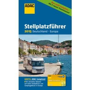 ADAC Stellplatzführer 2015 Deutschland-Europa