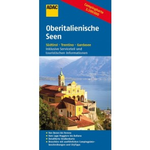 ADAC Campingkarte Oberitalienische Seen 1:200.000