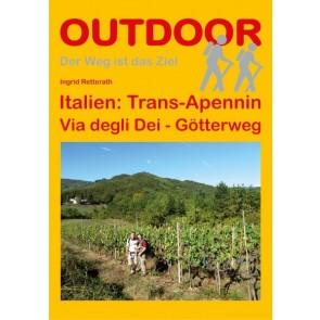 Wandelgids Italien: Trans-Apennin Via degli Dei - Götterweg (91) 1.A 2013