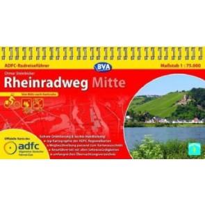 Rheinradweg Mitte - von Köln nach Karlsruhe