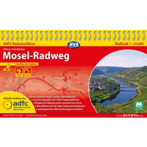 Fietsgids Mosel-Radweg 1:50.000