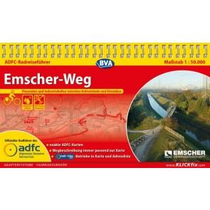 Fietsgids Emscher-Weg 1:50.000